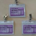 Les badges remis à l'équipe Bernat