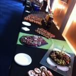 Un buffet simple et élégant