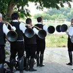 mariage retro concert cor de chasse