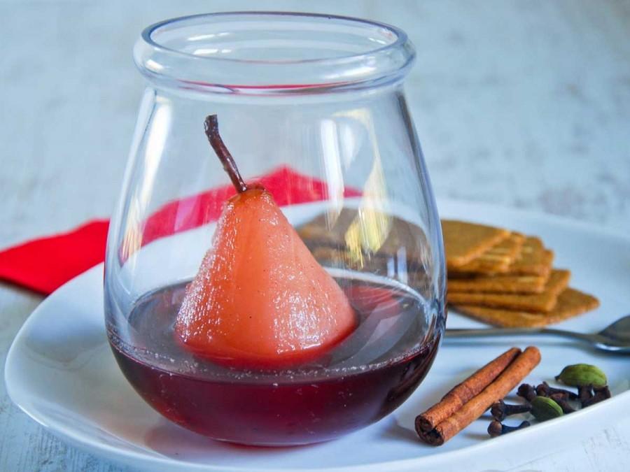 Poire au vin