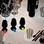 Table dégustation de vins