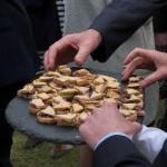 Toast au foie gras et chutney